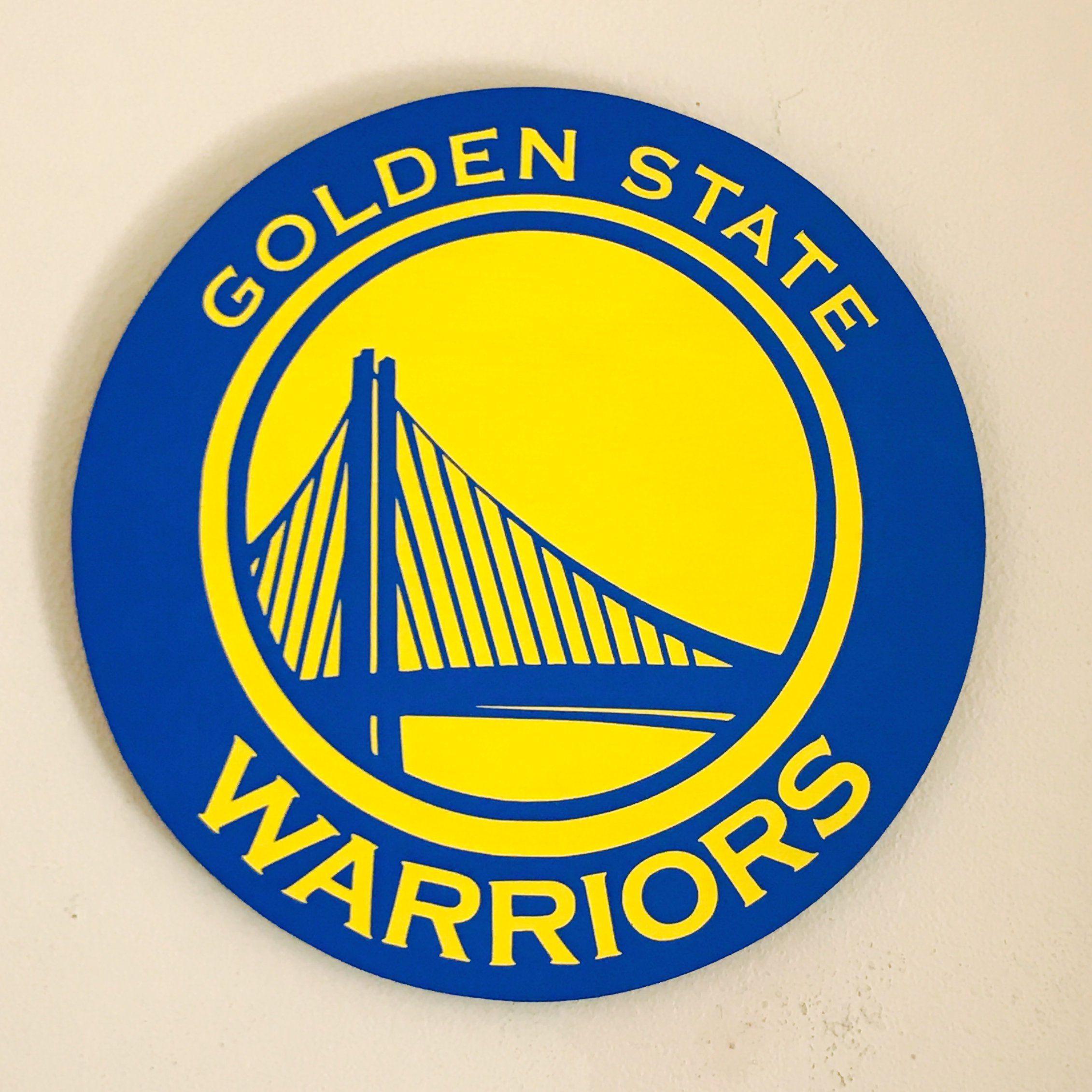 Golden State Warriors wood sign, home decor, NBA, basketball wood ...