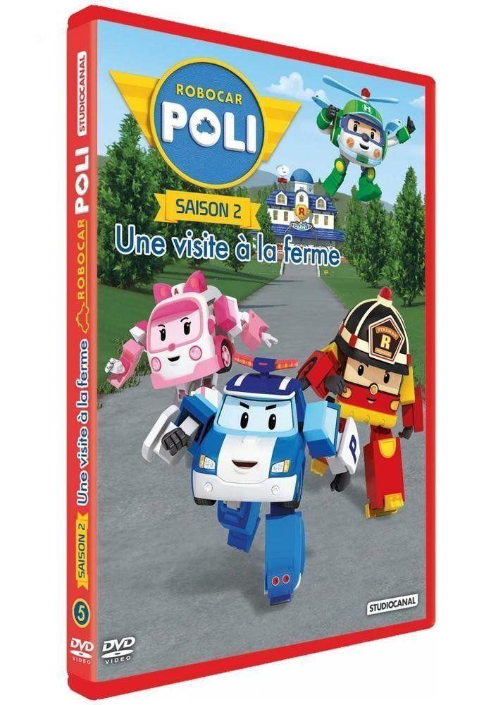 Robocar poli saison 2 5 une visite la ferme dvd - Dessin anime robocar poli ...