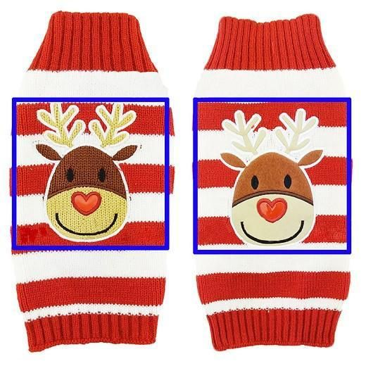 Hand Knitted Christmas Sweater For Pets