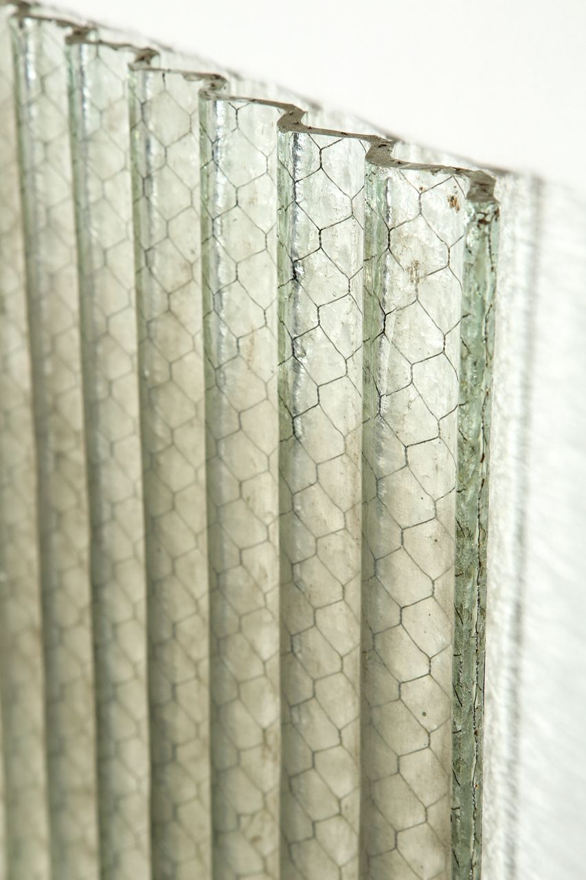 Corrugated Chicken Wire Glass Clear Color | Pinterest | Chicken wire ...