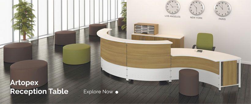 Reception Office Interiors Used