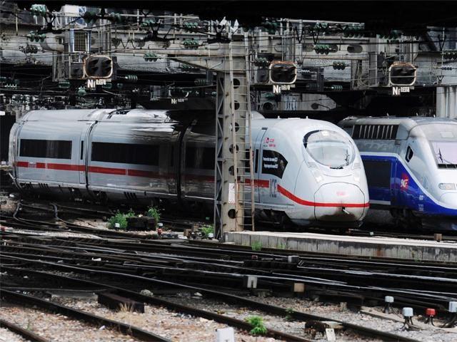 Deutsche Bahn AG unveils new ICE 3 highspeed train