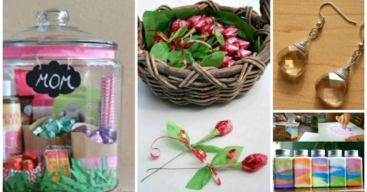 9 Ideas de manualidades para regalar en el día de la madre Ideas