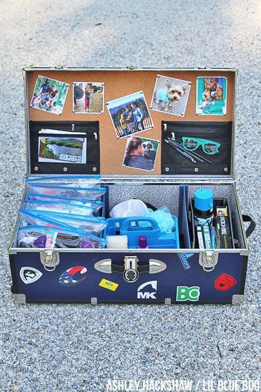 Summer Camp Trunk Decorating Ideas Porqu 233 Sepresenta With