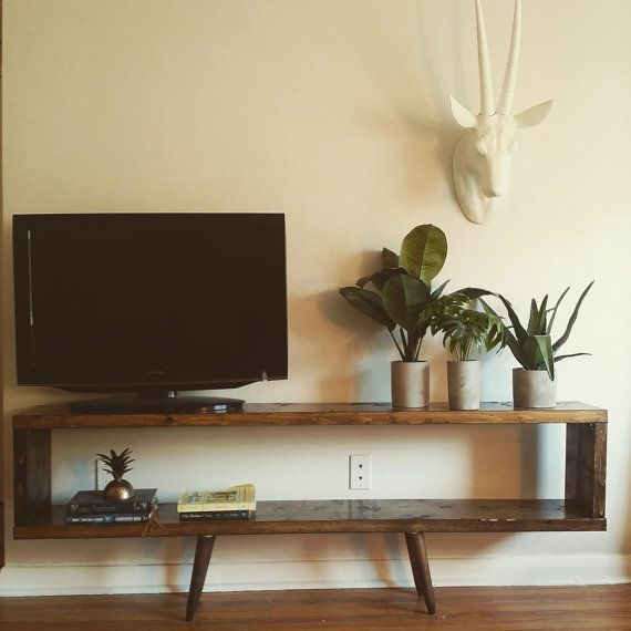 gorgeous midcentury tv stand di encoredesignstoronto su etsy tv wall pinterest tv stands. Black Bedroom Furniture Sets. Home Design Ideas