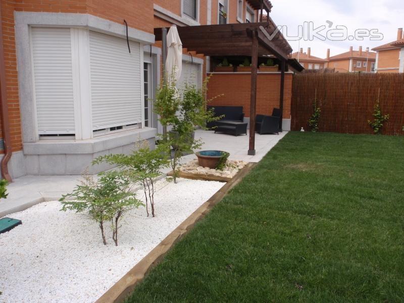 Jard n de piedras blancas proyectos que debo intentar - Jardin piedras blancas ...
