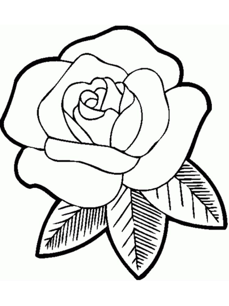 Rose Coloring Pages Rose Coloring Pages Printable Flower Coloring Pages Cute Coloring Pages