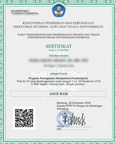 Download Sertifikat Diklat Pkp Di Sim Pkb Guru Belajar Pendidikan
