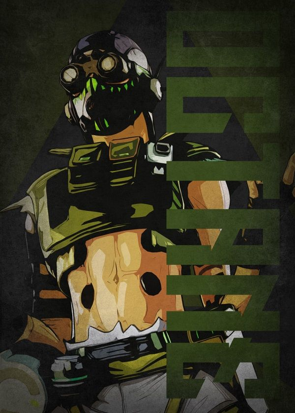 """Apex Legends Colourful Characters Octane #Displate explore Pinterest""""> #Displate artwork by artist """"Beegeedoubleyou"""". Part… 