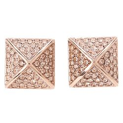 Michael Kors Collection Brilliance Pyramid Stud Earrings for $46 #brandnamecoupons #jewelry #michaelkors #deals #fashion