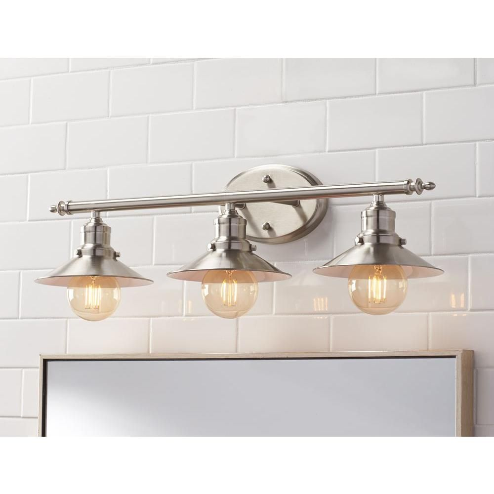 Home decorators collection 3 light brushed nickel retro vanity light home decorators collection 3 light brushed nickel retro vanity light aloadofball Images