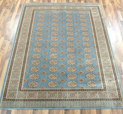 Bokhara BK01 Blue Rugs - buy online at Modern Rugs UK