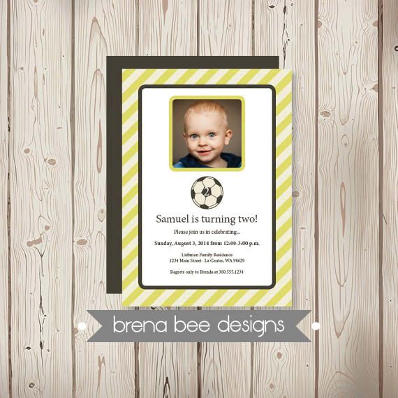 Personalized  Sam Soccer with Photo  Yellow by brenabeedesigns, $14.75