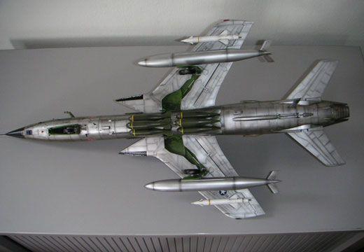 Republic F 105d Thunderchief Trumpeter 1 32 Von Chris Schmid Flugzeug Modell