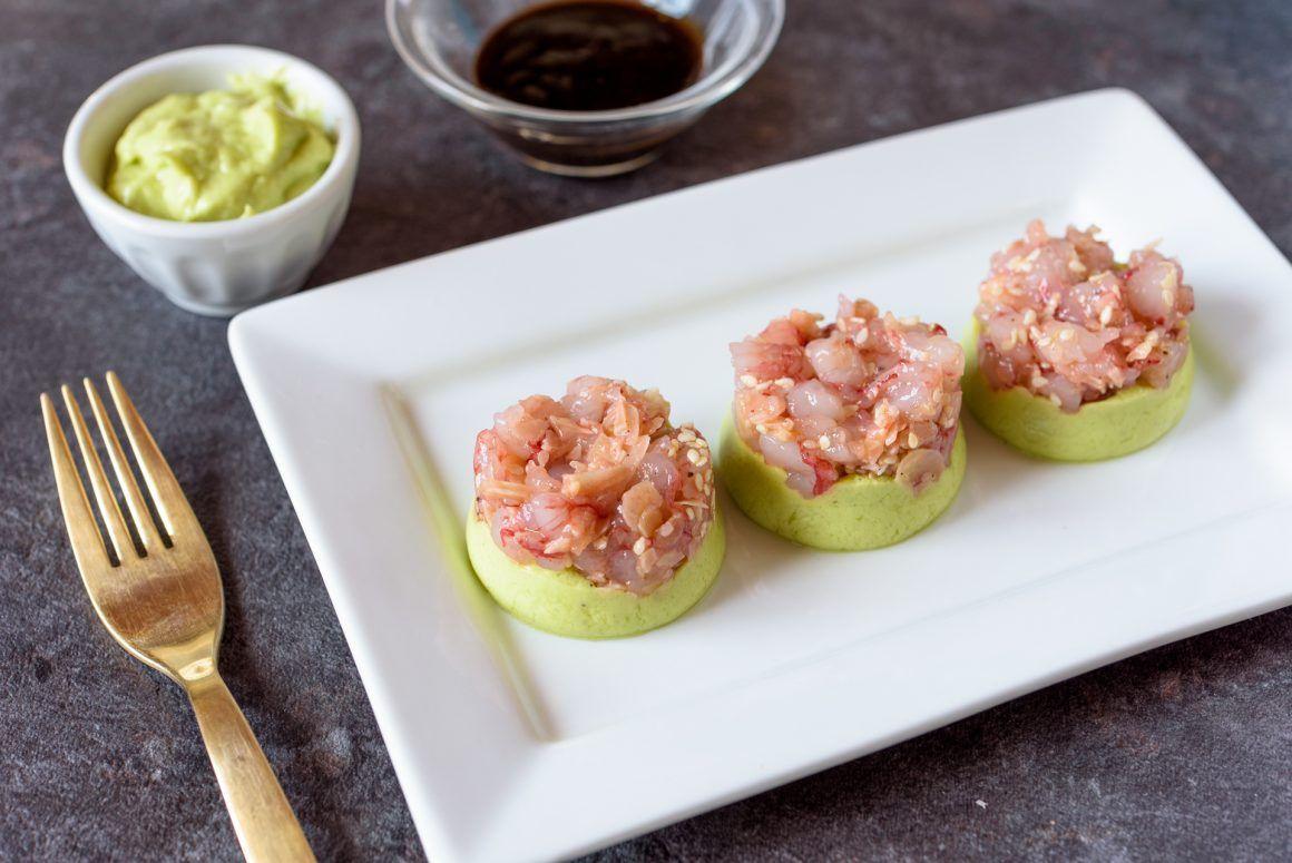 Tartare di gambero rosso con mousse di avocado ricetta for Ricette gambero rosso