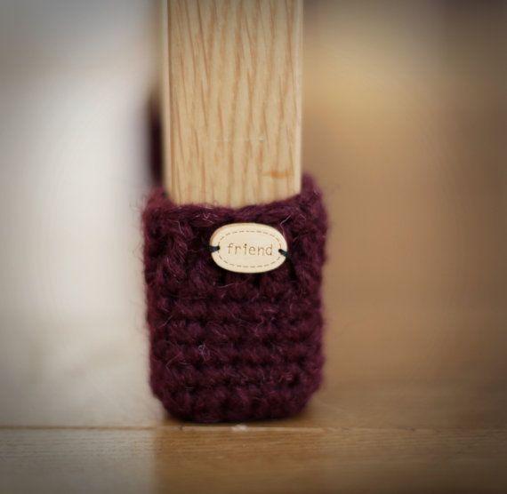 Home Decoration Floor Protector Crochet Chair Socks Chair Leg Socks Table Socks Furniture Accessories Home Accessories Eco Friendly Gift Chair Socks Chair Socks Pattern Wool Chair