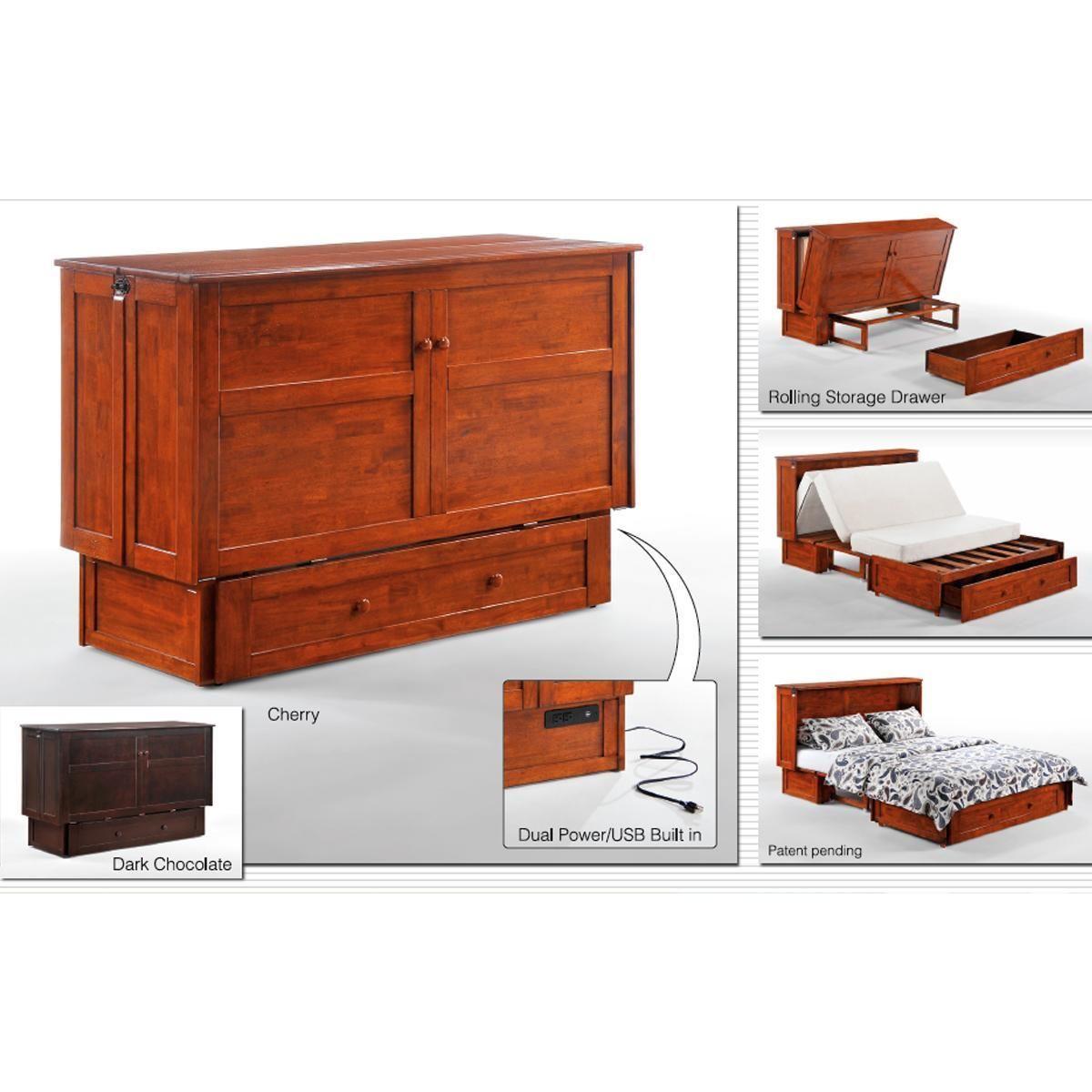 Product Main Image 3 Nebraska Furniture Mart Murphy Cabinet Bed Cabinet Bed