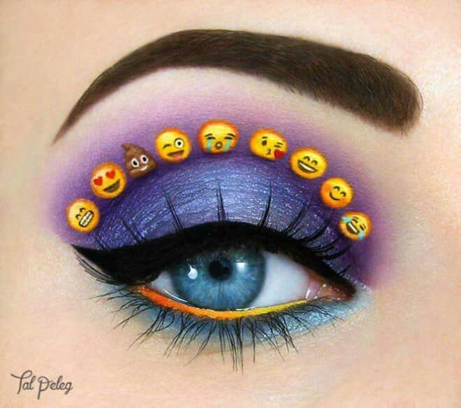Emoticons makeup