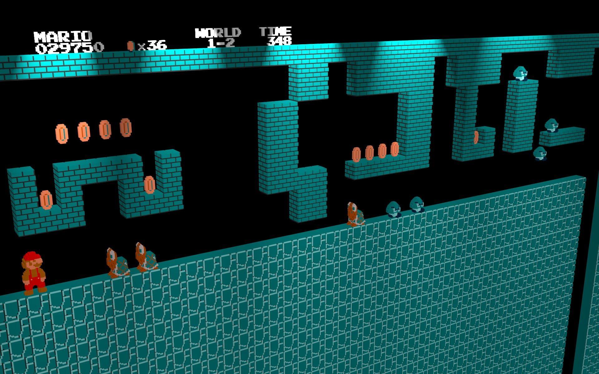 Super Mario Game Application Screenshot Nintendo Entertainment System Retro Games Mario Bros 3d 1080p Wall Mario Bros Retro Games Wallpaper Game Mario Bros