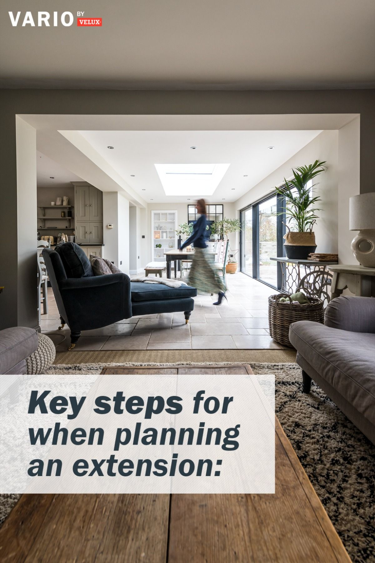 8 steps to follow when planning an extension project