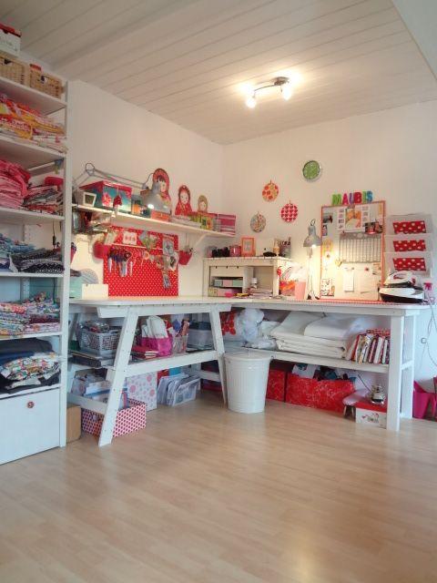 geliebtes n hzimmer craftroom. Black Bedroom Furniture Sets. Home Design Ideas