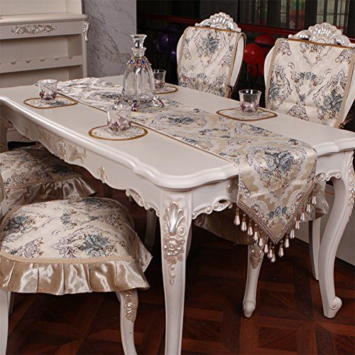 European Style Luxury Dining Table Table Runner Tea Table Cloth