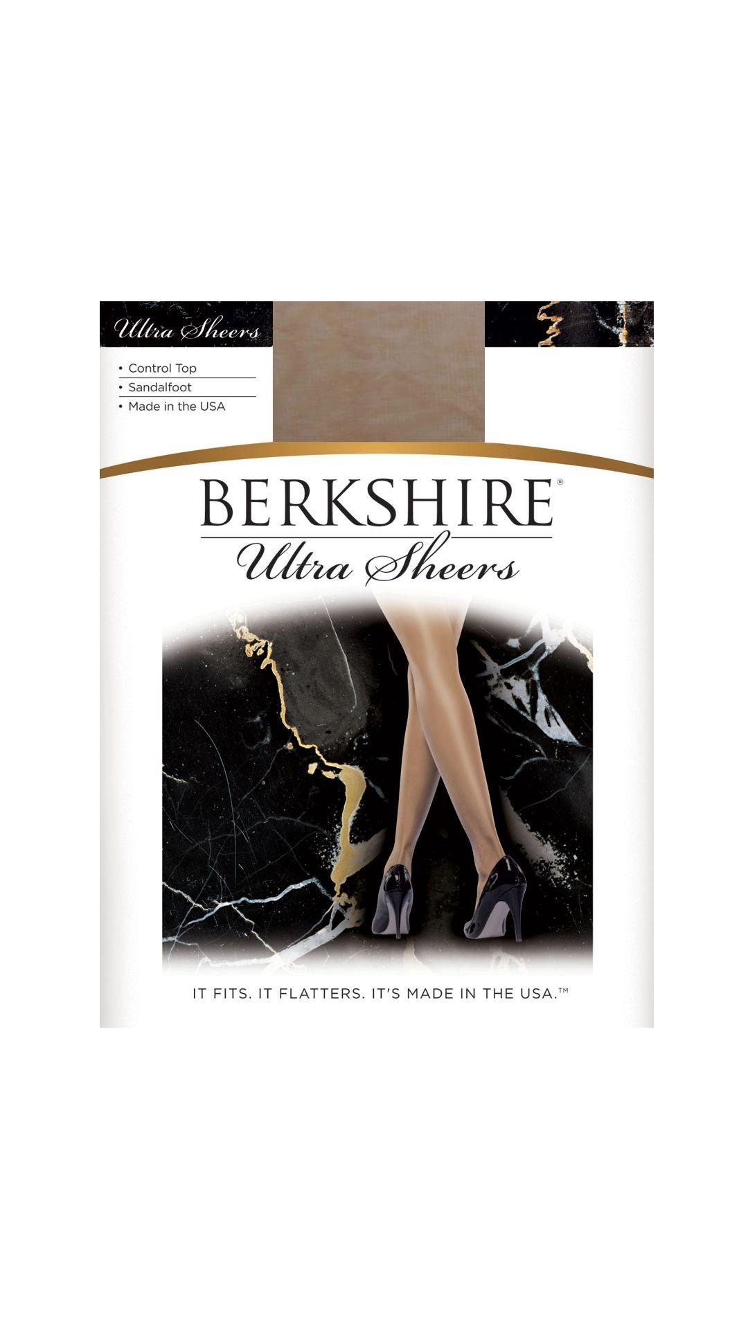 9d787ba0d3f Berkshire Ultra Sheer Control Top Pantyhose - Sandalfoot Tan De Sol ...