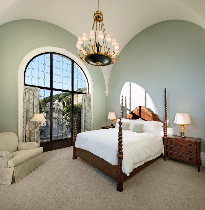 Bedroom Sets With Pillars classic style bed frame with decorative twister pillars hardwood