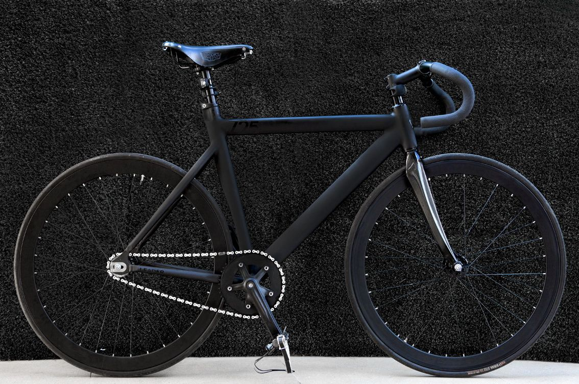 Garazhik Fixed Gear: Leader 725 black | Rides | Pinterest