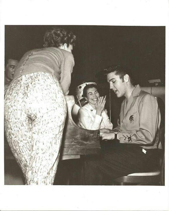 Elvis - Las Vegas 1956 - with Judy Spreckles