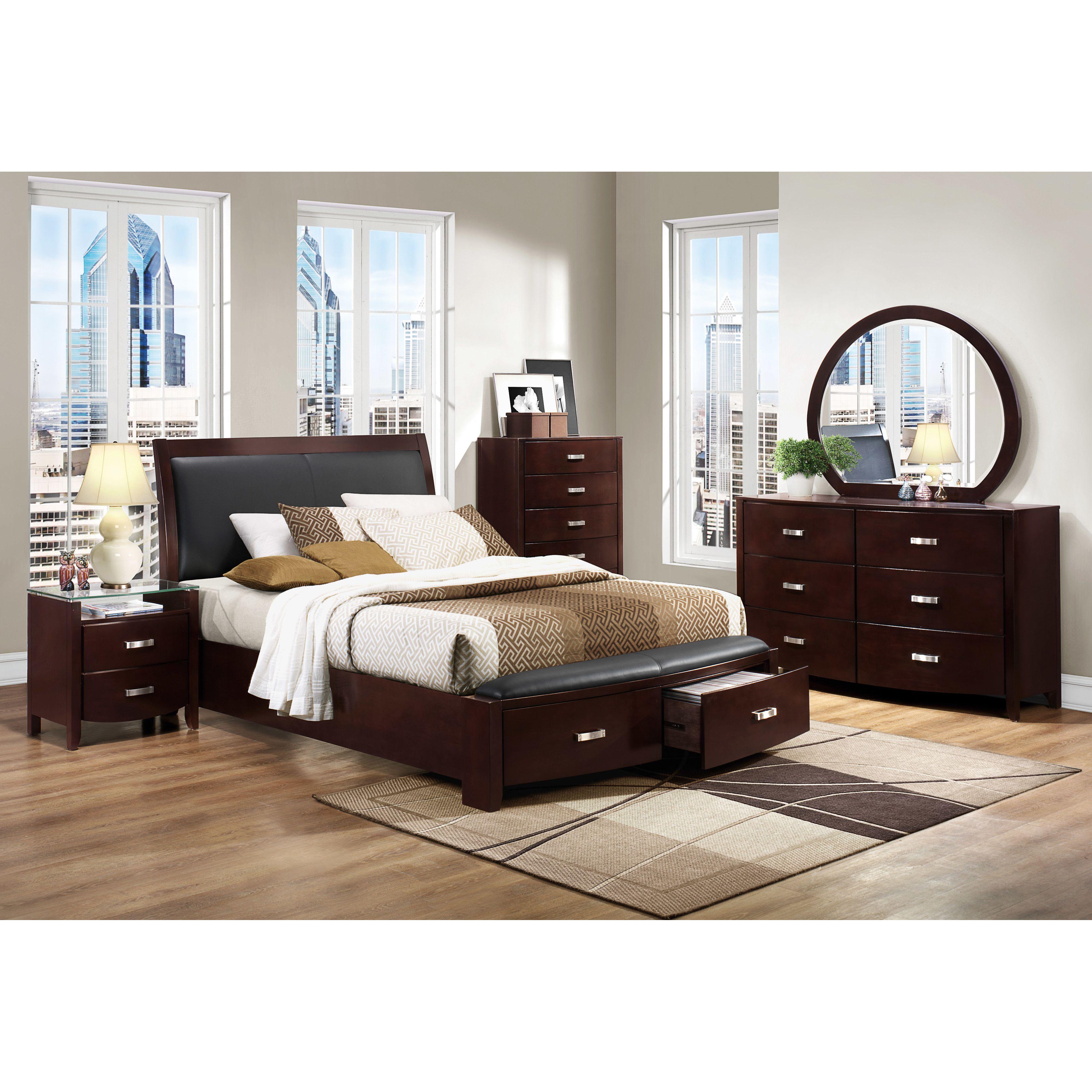 Woodhaven Hill Lyric Platform Customizable Bedroom Set U0026 Reviews   Wayfair