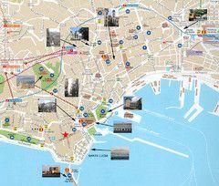 Tourist Map Napoli Tourist Map Naples Map Italy Tourist