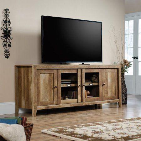 Free Shipping Buy Sauder Dakota Pass TV Stand in Craftsman Oak at