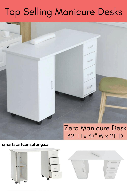 850 Manicure Stations Table Desk Ideas In 2021 Manicure Station Nail Salon Decor Salon Decor
