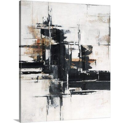 Great Big Canvas Ever Hidden By Sydney Edmunds Painting Print On Canvas Wayfair In 2020 Big Canvas Art Abstract Art Painting Abstract