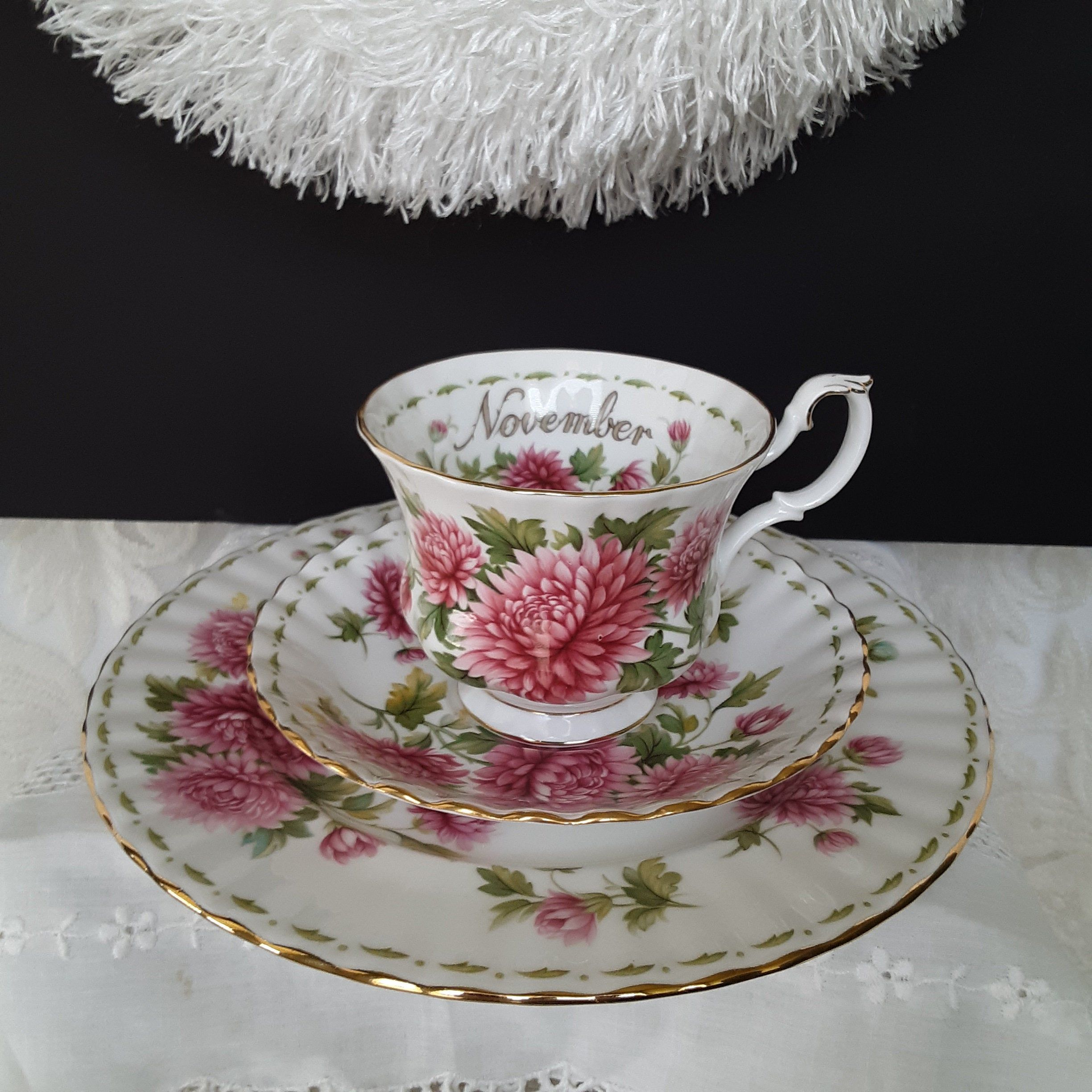 Royal Albert China, November Flower of the Month, Teacup