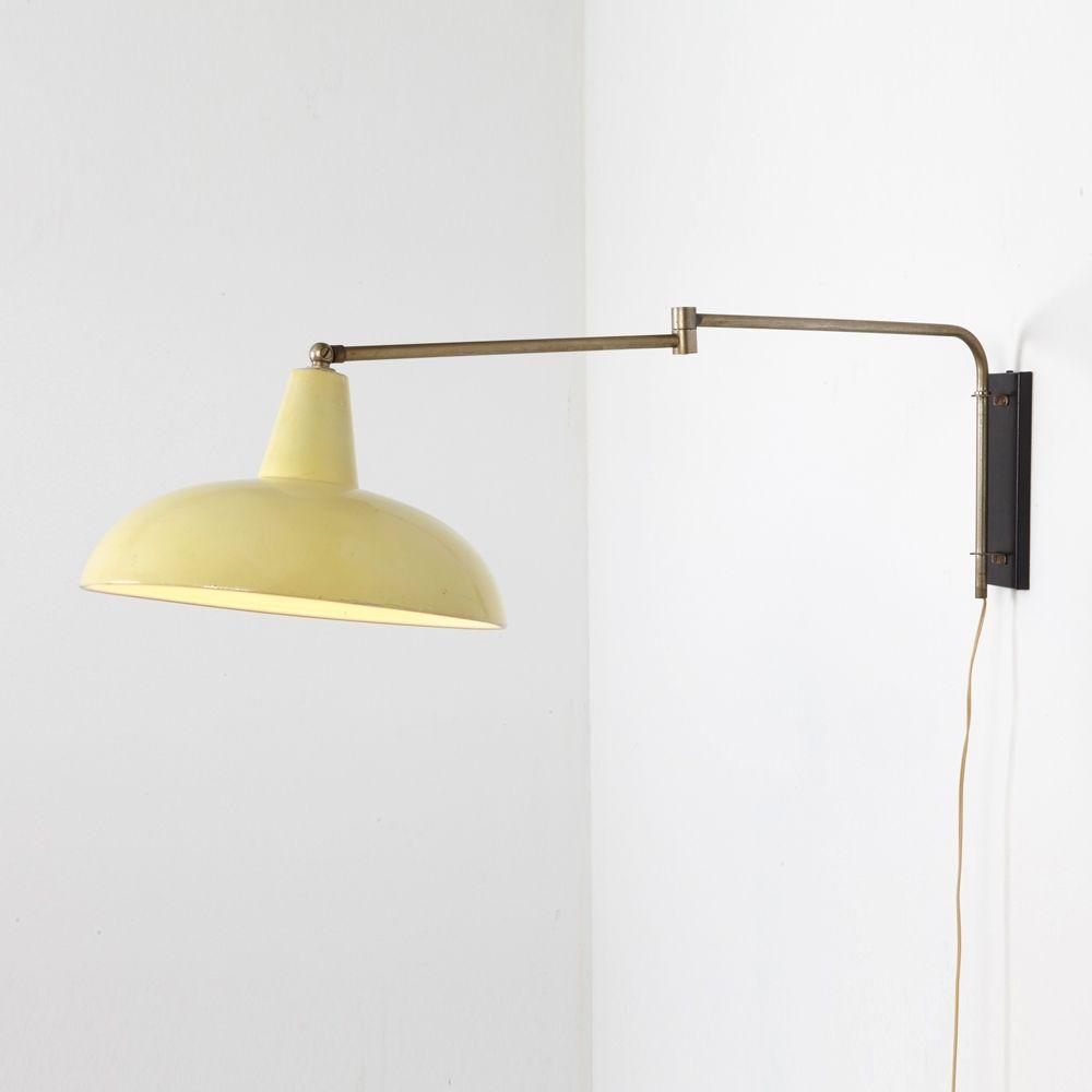 1950s hallway ideas  Vintage wall lamp s  Design  Pinterest  Vintage walls s