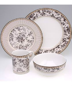 Royal Doulton Fine China  Provence Noir  Collection -12 Settings  sc 1 st  Pinterest & Royal Doulton Fine China