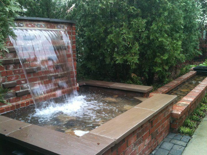 Amazing Patio Waterfall By Teacup Gardener