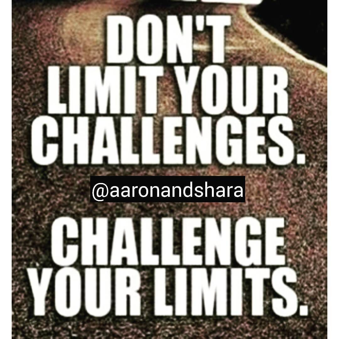 Make Sure You Keep Yourself Challenged! . Follow @aaronandshara . Dont be rude type YES Below If You Agree:)! . . Double tap and tag someone you know will benefit! . .  #mondaymoves…