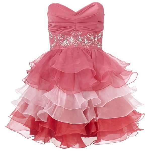 Lipsy V I P Ruffle Prom Dress and other apparel, accessories and trends. Browse and shop 8 related looks.
