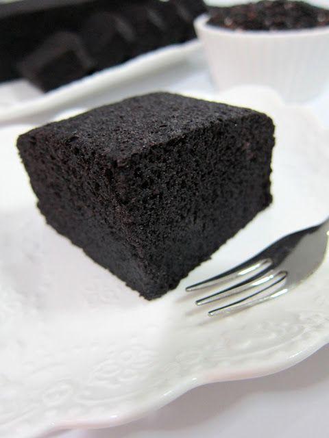 "Fern Fuschia Cakes: Steamed Black Glutinous Rice Cake ""It ..."