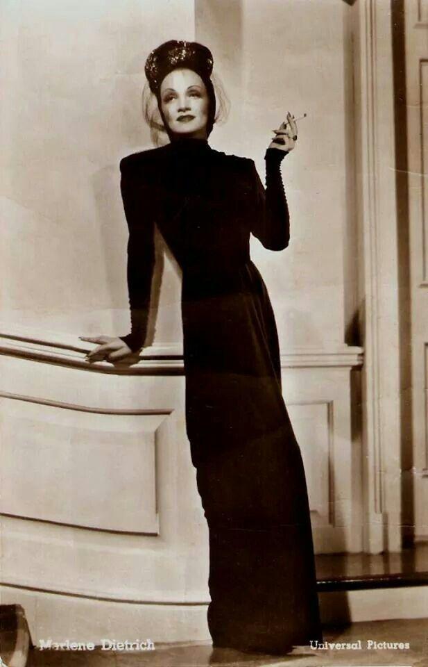 Marlene Dietrich.....Uploaded By  www.1stand2ndtimearound.etsy.com