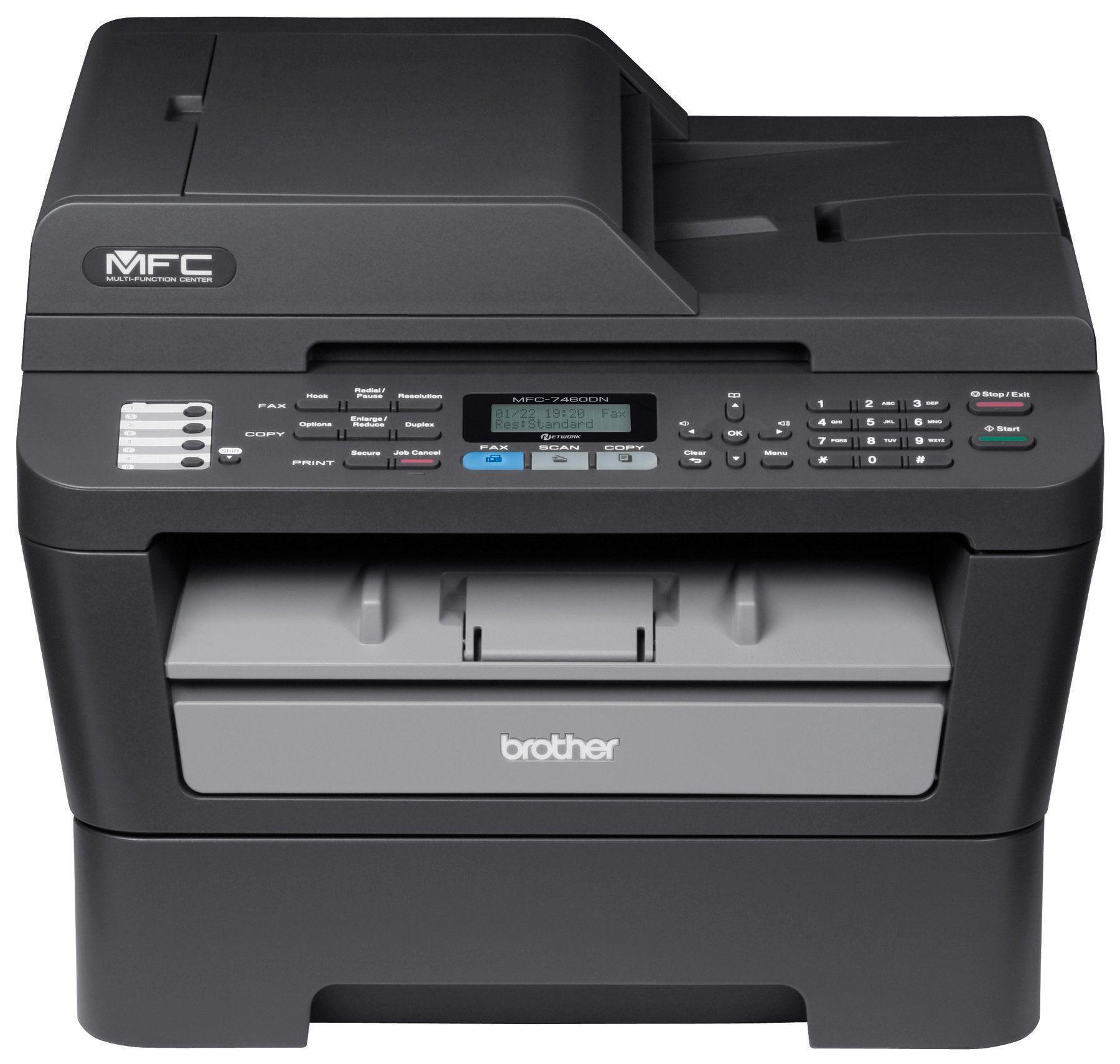 Brother EMFC7460DN Monochrome Printer with Scanner, Copier