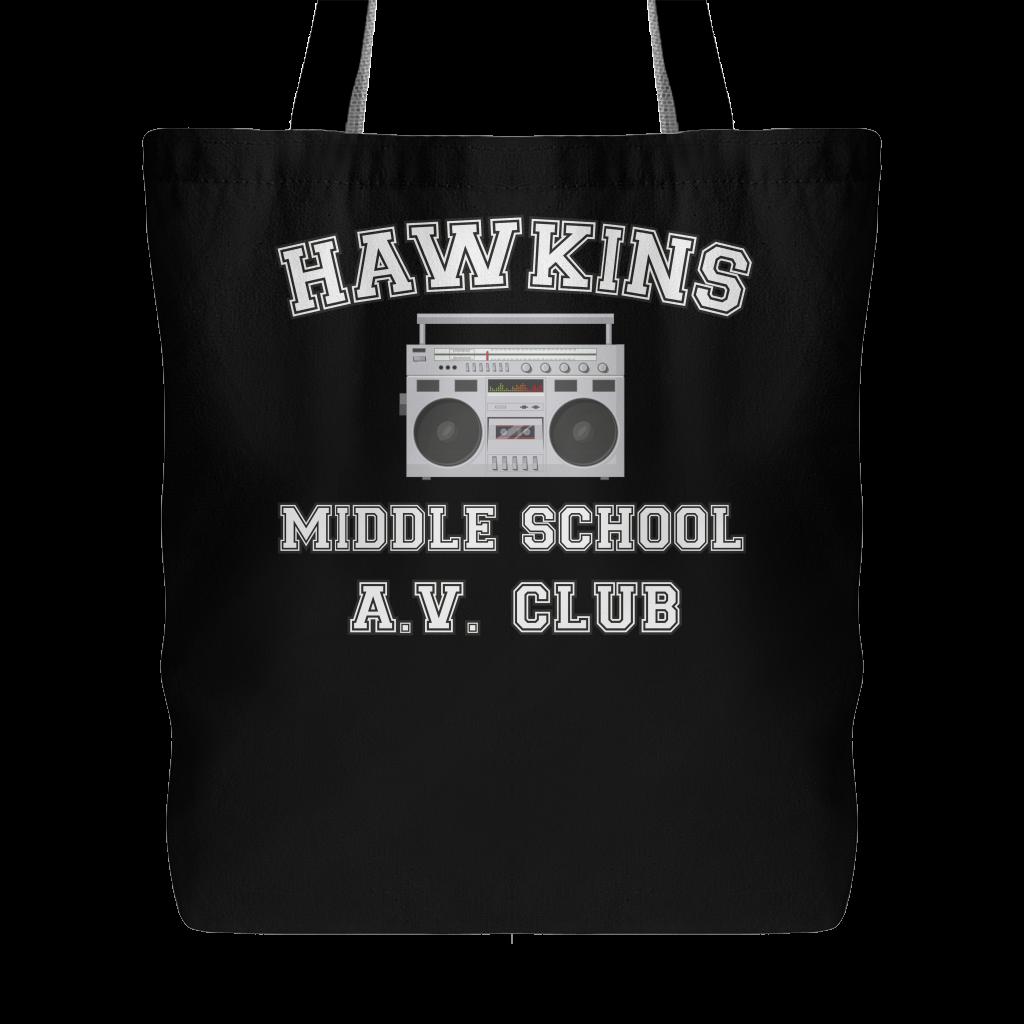 Stranger Hawkins Middle School Funny Tote Bag for Women