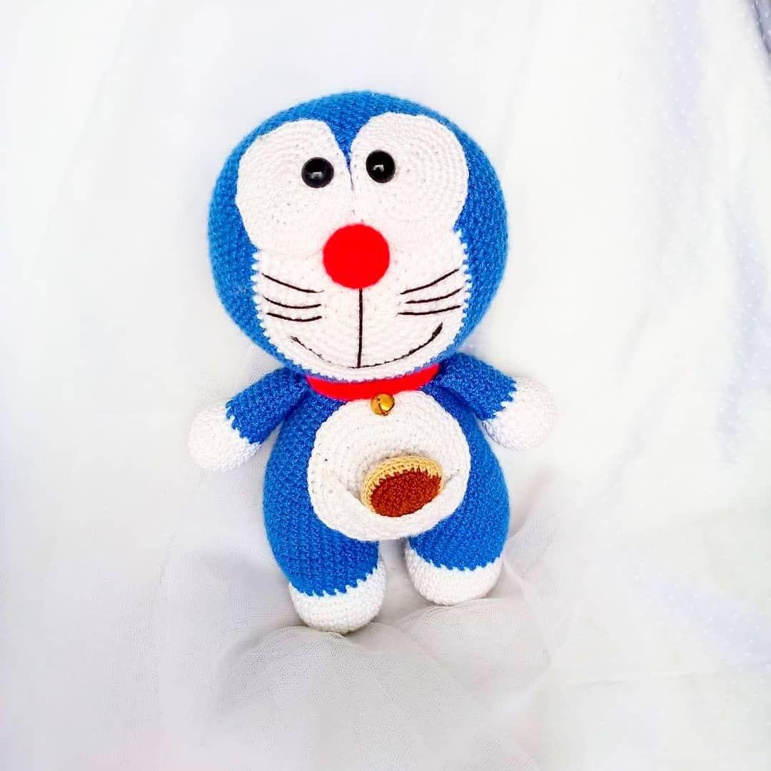 Amigurumi De Doraemon El Gato Cósmico Doraemon El Gato Cosmico El Gato Cosmico Peluche Tejido