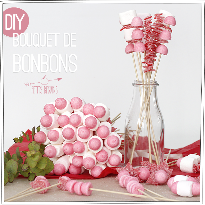 bouquet de bonbons bonbon. Black Bedroom Furniture Sets. Home Design Ideas