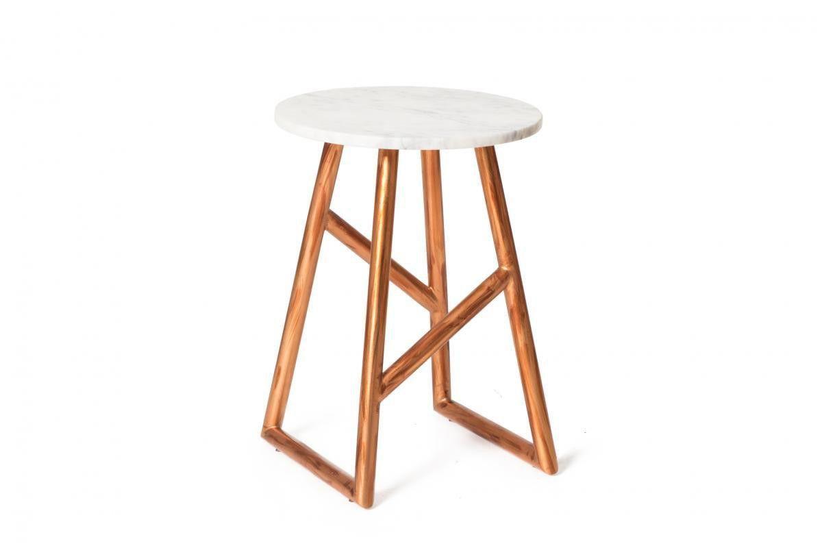 Kayoom Tisch Anaheim Kupfer / Marmor Jetzt bestellen unter: https ...