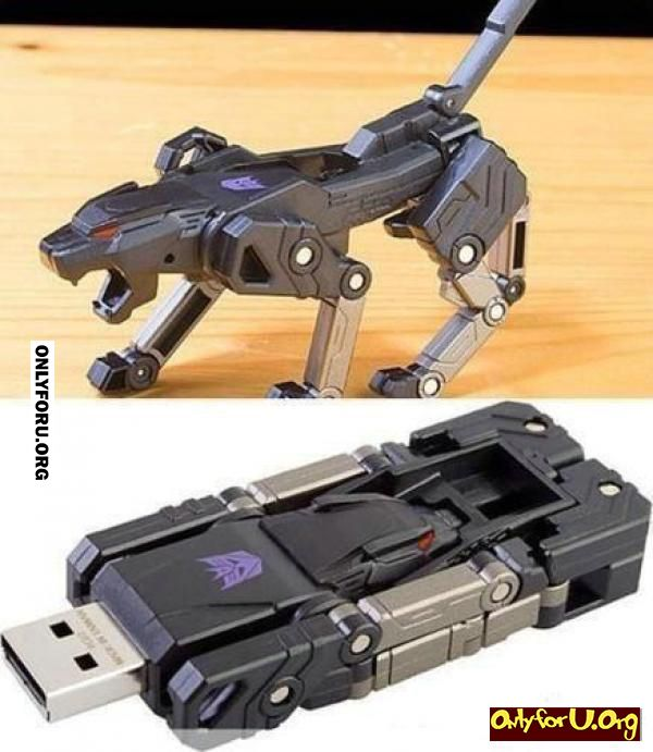 transformer usb drive onlyforu funny pinterest technik erfindungen und elektro. Black Bedroom Furniture Sets. Home Design Ideas