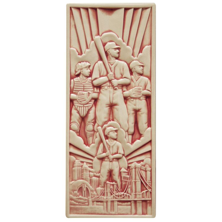 Rookwood pottery companys spirit of baseball tile reflects the rookwood pottery companys spirit of baseball tile reflects the artwork on the side of tyukafo